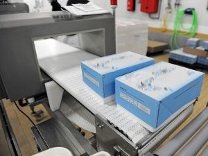 Plastic detection: new X-Ray and Metal Material