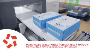 Bandas detectables por metales y rayos X